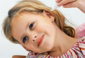 Лечение болезней ушей у детей