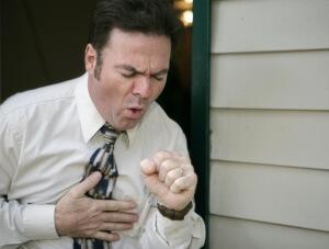 Характеристика сильного кашля