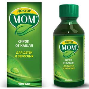 Доктор Мом: инструкция по применению сиропа от кашля