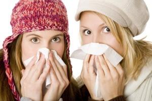 Причины возникновения простуды