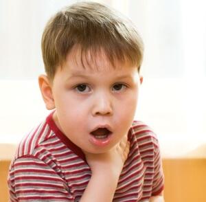 Виды детского кашля