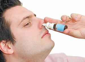 Использование противовоспалительных капель при заложенности носа