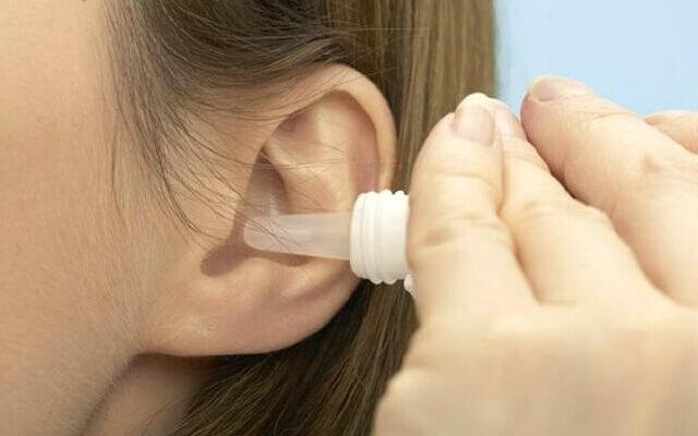 Воспаление уха как лечить перекись водорода