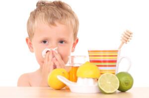 Лечение детского насморка народными методами