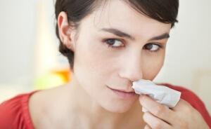 Советы по оставлению носового кровотечения