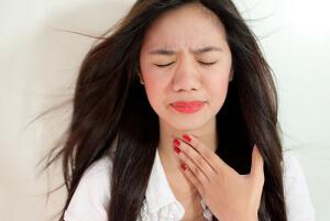 Спазмы горла при психогенных расстройствах