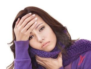 Боль в ушах при ангине