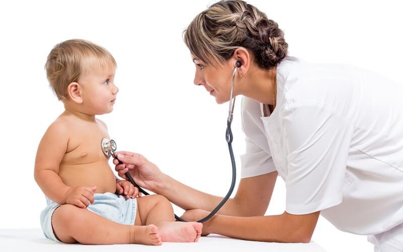 Как лечить ангину ребенку годовалому ребенку