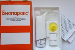 Возможные побочные эффекты использования Биопарокса