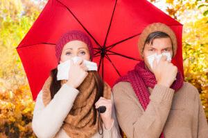 Причины и симптомы простуды