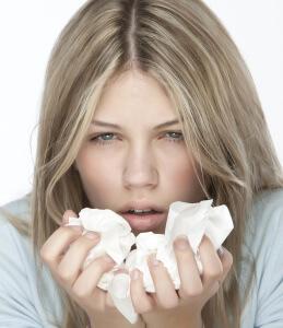 Симптоматика насморка