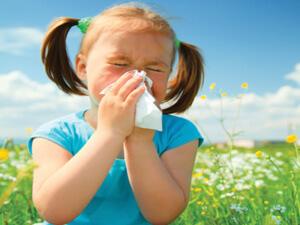 Насморка у ребенка как симптом аллергии