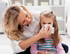 Способы лечения аллергического насморка у детей
