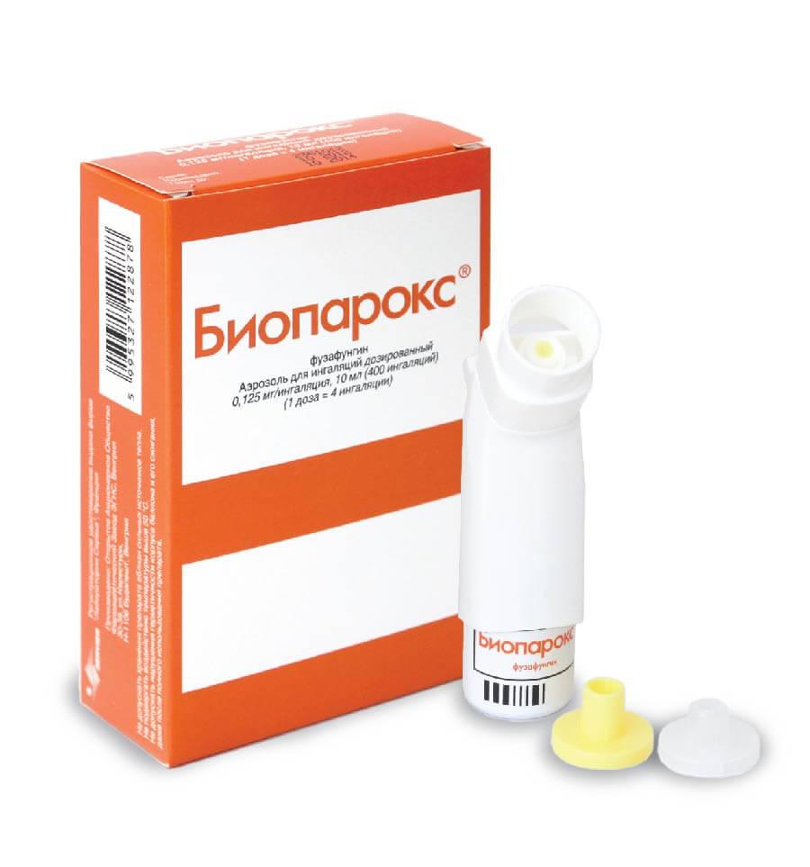 Как брызгать Биопарокс — дозировка и особенности использования препарата