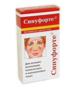 Синуфорте при гайморите - эффективное лечение