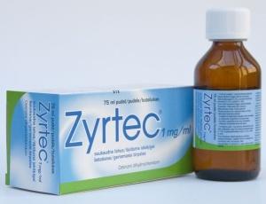 Лекарство Зиртек — антигистаминный и противоаллергический препарат