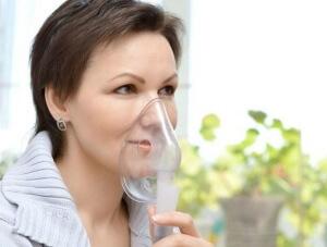 Ингаляции небулайзером при болях в горле