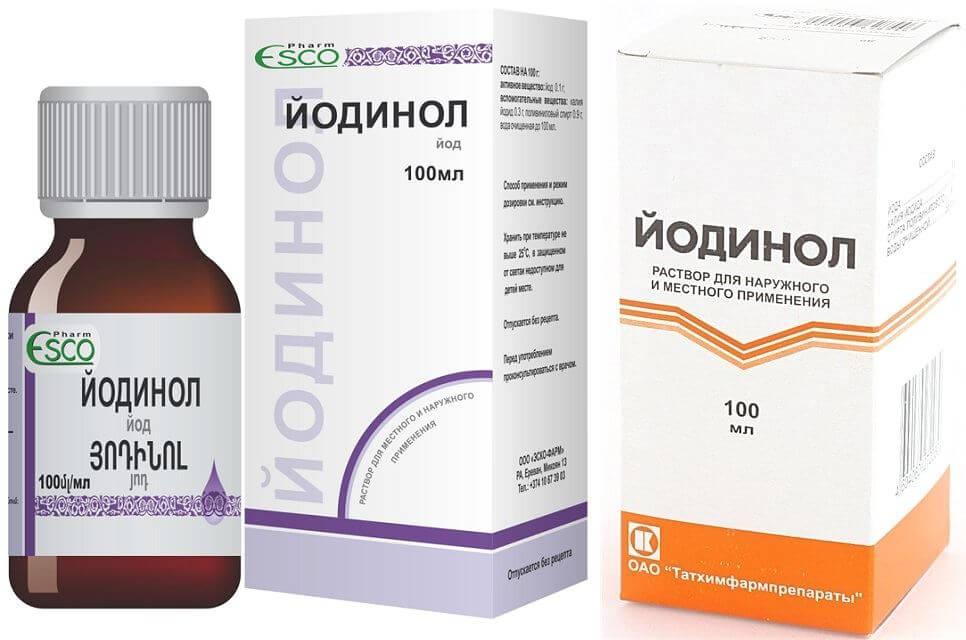 Как полоскать горло Йодинолом — приготовления раствора и процедура полоскания