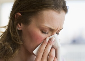 Признаки отека слизистой носа