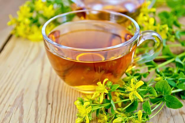 Польза зверобоя чая