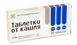 Таблетки от кашля - эффективный отхаркивающий препарат на растительной основе