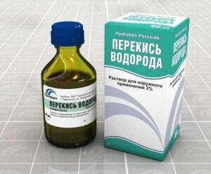 Лечение горла перекисью водорода: приготовления раствора и техника полоскания