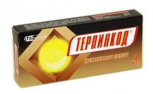 Препарат Терпинкод: состав, назначение и применение