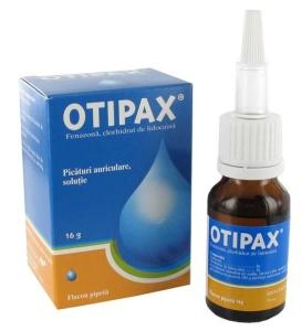 Отипакс – эффективные противовоспалительные и антисептические ушные капли
