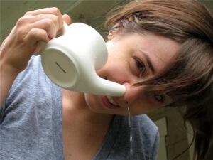 Промывание носа – эффективный метод лечения гайморита