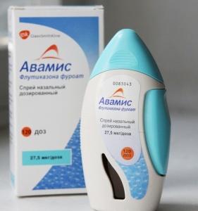 Авамис: назначение препарата, дозировка и побочные действия