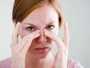 Прогревание носовых пазух
