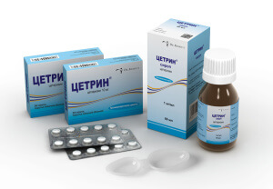 Цетрин –  эффективный антигистаминный препарат для профилактики и лечения аллергических заболеваний