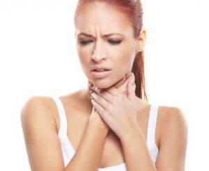 Першение и боль в горле, температура и сухой кашель – признаки фарингита
