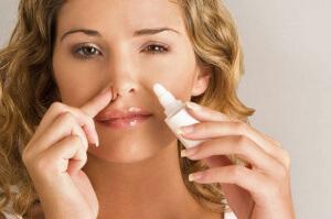 Капли в нос с антибиотиком