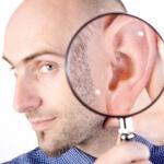 Среднее ухо – это полость за барабанной перепонкой