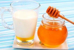 Молоко с медом – эффективное народное средство от кашля для детей и взрослых