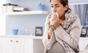Черная мокрота в кашле при беременности : что делать