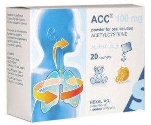 АЦЦ – это эффективный муколитический и отхаркивающий препарат