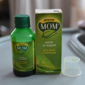 Доктор Мом сироп – это эффективный растительный препарат с отхаркивающим действием
