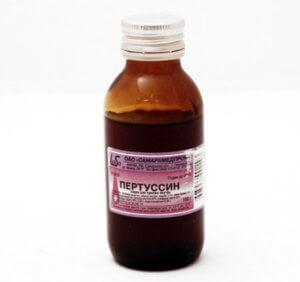 От какого кашля сироп Пертуссин?