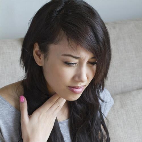 О чем свидетельствует ком в горле после еды?