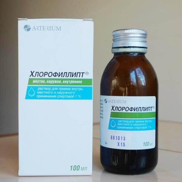 Можно ли полоскать горло Хлорофиллиптом?