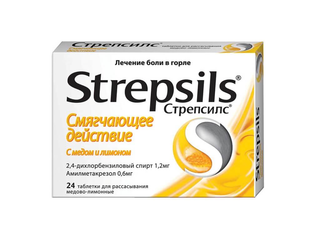 Стрепсилс: показания и противопоказания