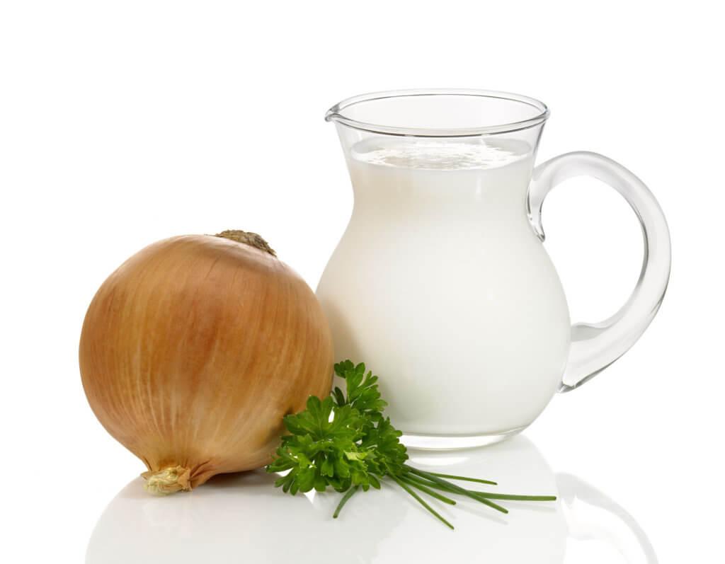 Лук на молоке от кашля для детей
