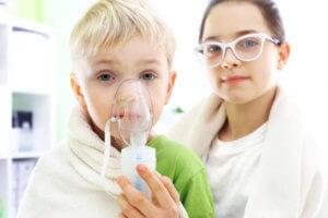 Ингаляции небулайзером помогут освободить носовое дыхание и увлажнят слизистую носа