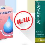 Отипакс и Анауран – ушные капли для лечения отита