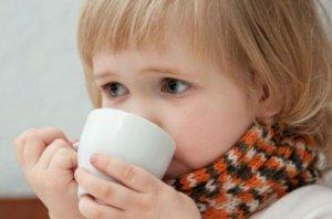 Снять спазм поможет теплое питье