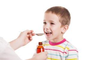 Дозировка зависит от возраста ребенка