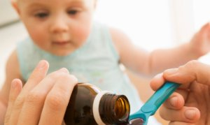 Медикаментозные препараты для грудничков выпускаются в форме сиропа