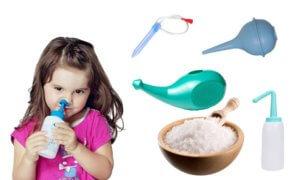 Промывание носа поможет быстрее избавиться от соплей